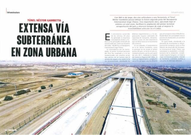 Koplast presente en la construcción del túnel de Gambetta, Callao.