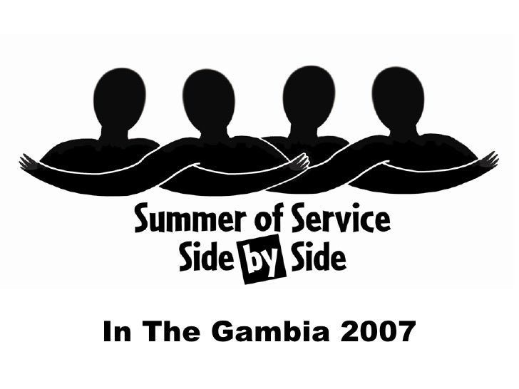 In The Gambia 2007