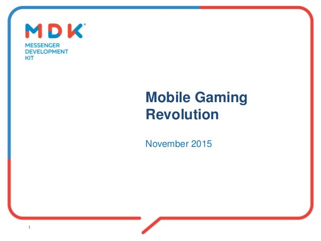 Mobile Gaming Revolution November 2015 1