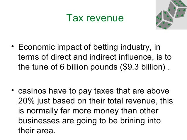 Negative economic impacts of gambling supreme court ruling on gambling