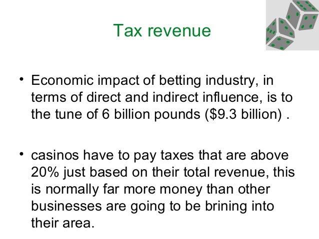 Negative economic impacts of gambling supreme court ruling on gambling