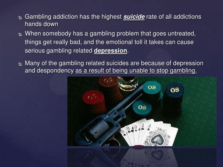 Gambling addiction suicide the g casino