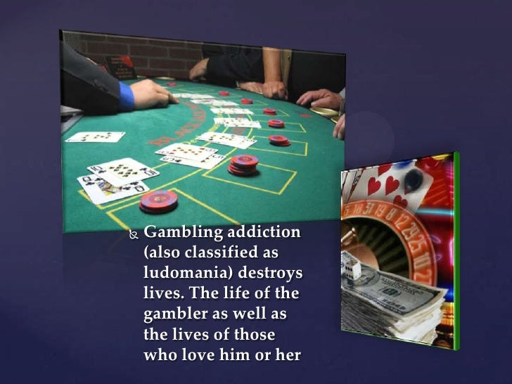 Addiction can destroy family gambling life best free casino drinks