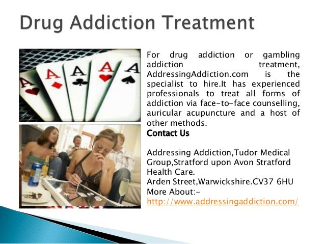 Treatment methods for gambling addiction thunder valley casino project