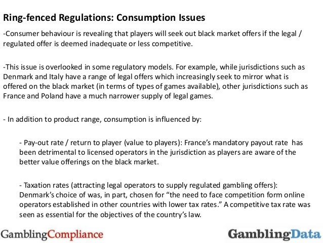 Gambling compliance italy vernons casino withdrawal