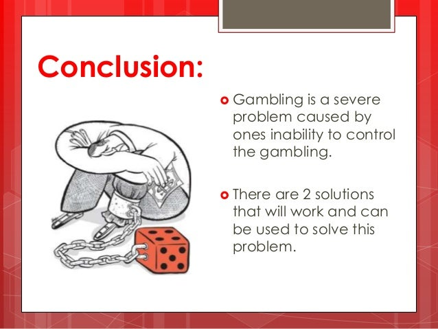 problem gambling 3 essay March is problem gambling awareness month (pgam) week 3 during the month, dmhas problem gambling services continues to promote the mission of keeping the problem out of gambling.