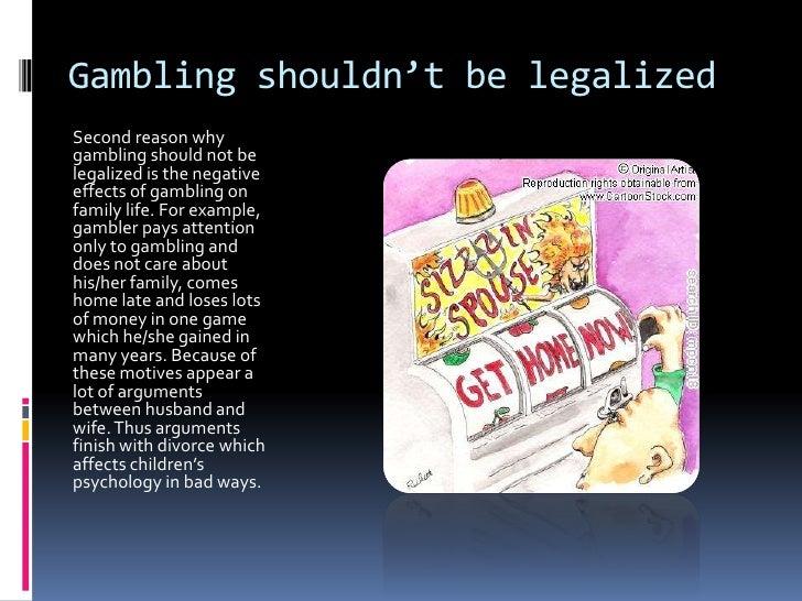 Should gambling be legal foxwoods casino cti