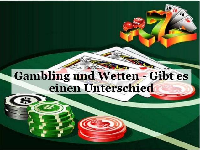 Gambling und Wetten - Gibt es einen Unterschied