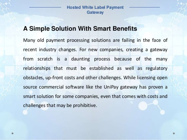 Game-Changing Hosted White Label Payment Gateway Now Available