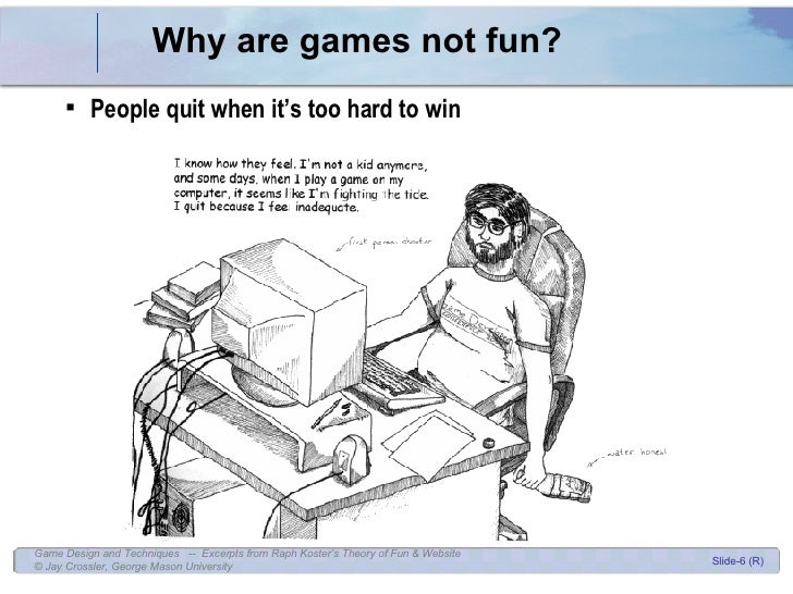 Game Design Theory Of Fun - Game design theory