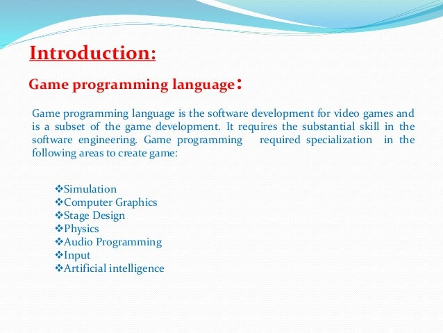 Game programming - Wikipedia