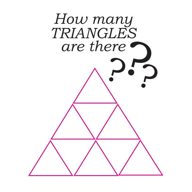 How many TRIANGLES are there ???