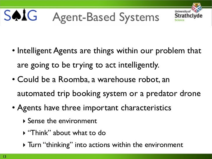 intelligent software agents  games