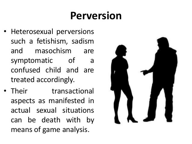 Sexually perverted definition