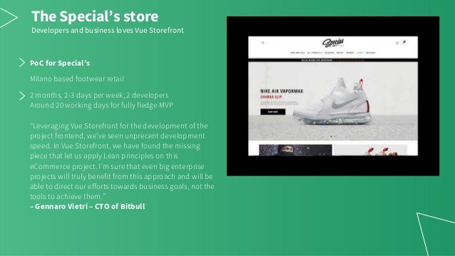 Vue Storefront Examples