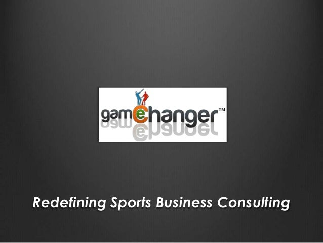 Redefining Sports Business Consulting