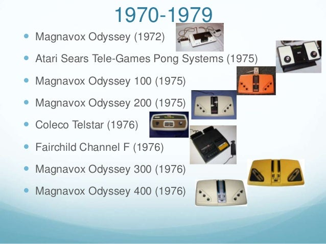 game console timeline