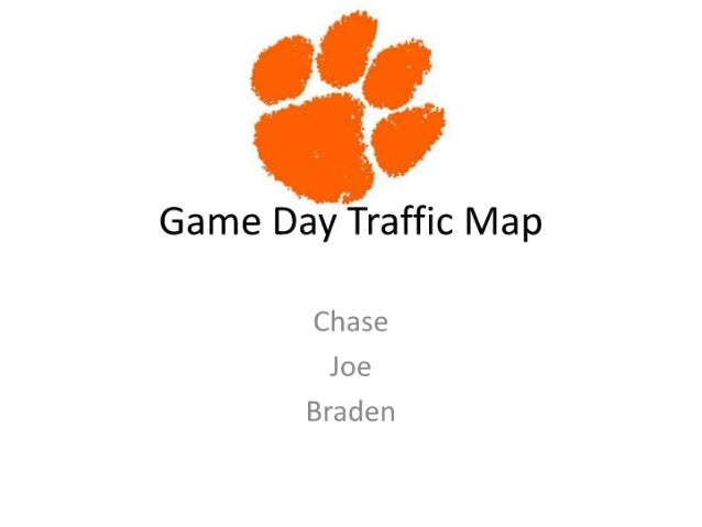 Game day traffic mapfromchase