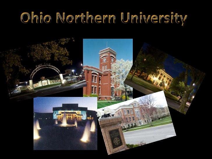 Ohio Northern University<br />
