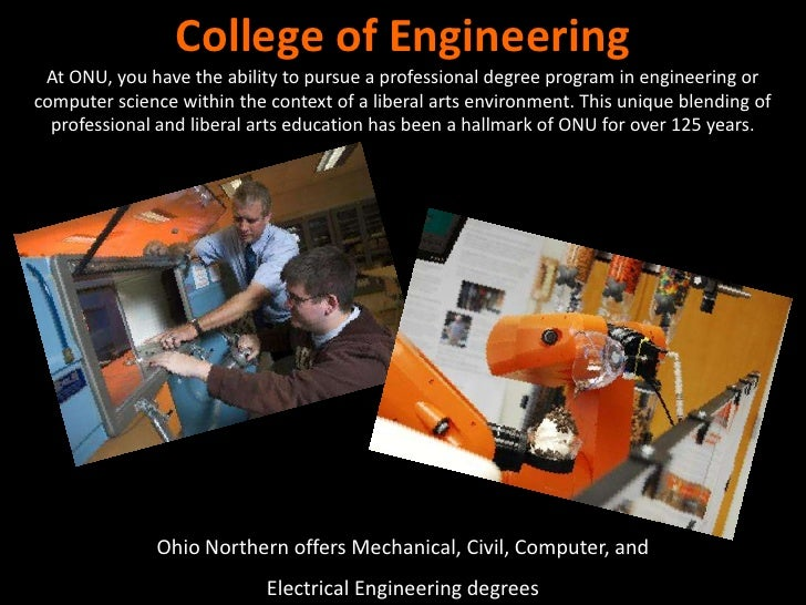 Ohio Northern University New Engineering Building