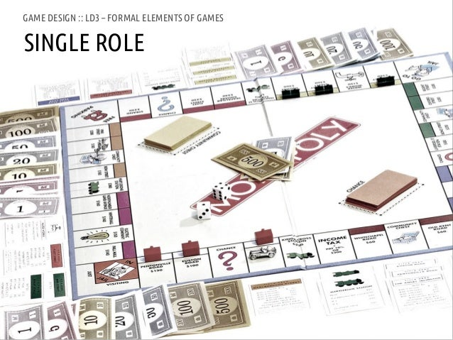 GAME DESIGN :: LD3 – FORMAL ELEMENTS OF GAMESSINGLE ROLEANDREA @RESMINI :: HIT, HÖGSKOLAN I BORÅS