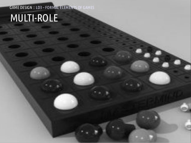 GAME DESIGN :: LD3 – FORMAL ELEMENTS OF GAMESMULTI-ROLEANDREA @RESMINI :: HIT, HÖGSKOLAN I BORÅS