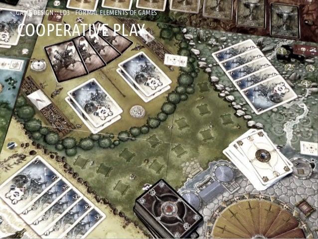 GAME DESIGN :: LD3 – FORMAL ELEMENTS OF GAMESCOOPERATIVE PLAYANDREA @RESMINI :: HIT, HÖGSKOLAN I BORÅS