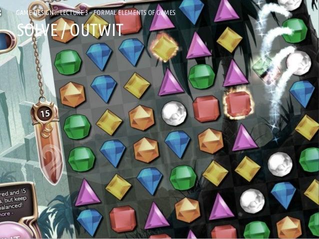 GAME DESIGN :: LD3 – FORMAL ELEMENTS OF GAMESGAMES               LECTURE 3 – FORMAL ELEMENTS OFSOLVE / OUTWITANDREA @RESMI...