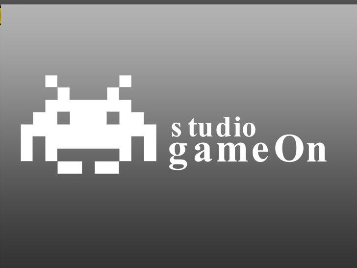 studio gameOn