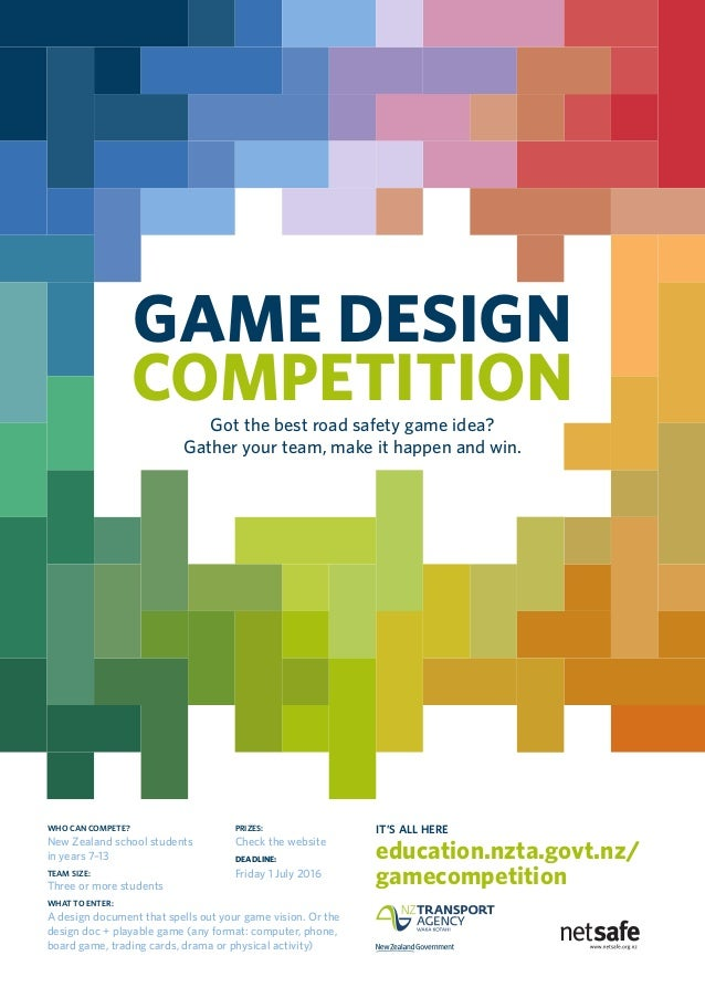 game design competition poster 1