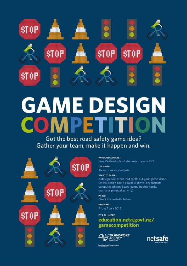 Game Design Competition Poster 2