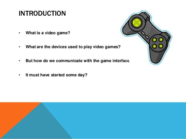 game development presentation for project synopsis, Presentation templates