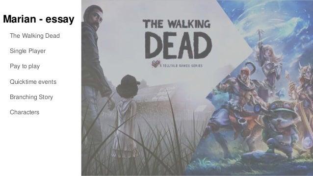 the walking dead essay