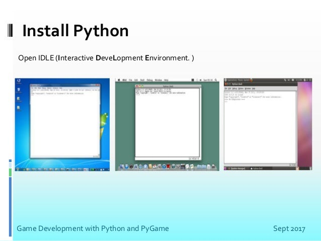 Game Development With Python and Pygame