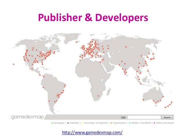 Game dev process Game Dev Map on