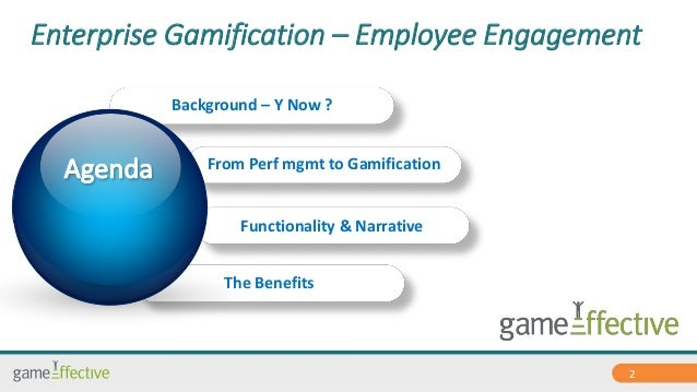 Enterprise Gamification introduction by GamEffective Slide 2
