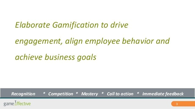 Enterprise Gamification introduction by GamEffective Slide 3