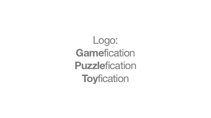 Logo:GameficationPuzzlefication Toyfication