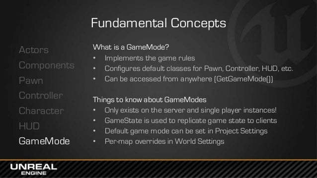 West Coast DevCon 2014: Game Programming in UE4 - Game