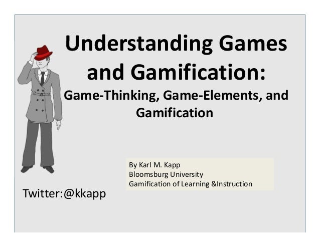 Understanding Games and Gamification