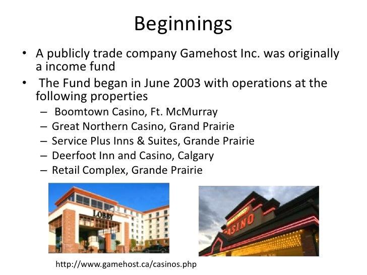Gamehost Inc