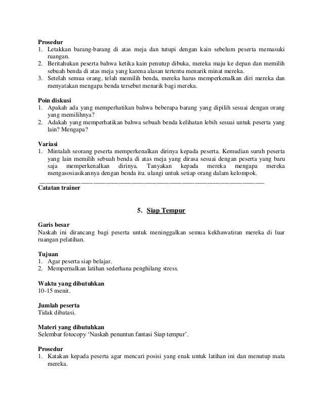 Kumpulan Permainan / Games untuk Team Building | Junaedi ...