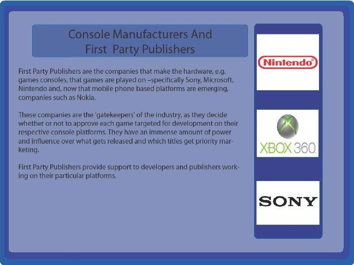Game industry presentation
