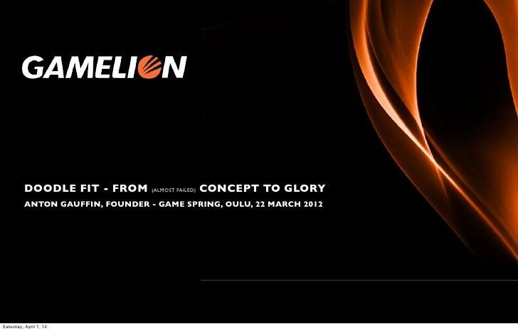 Gamelion GameSpring presentation 22march2012