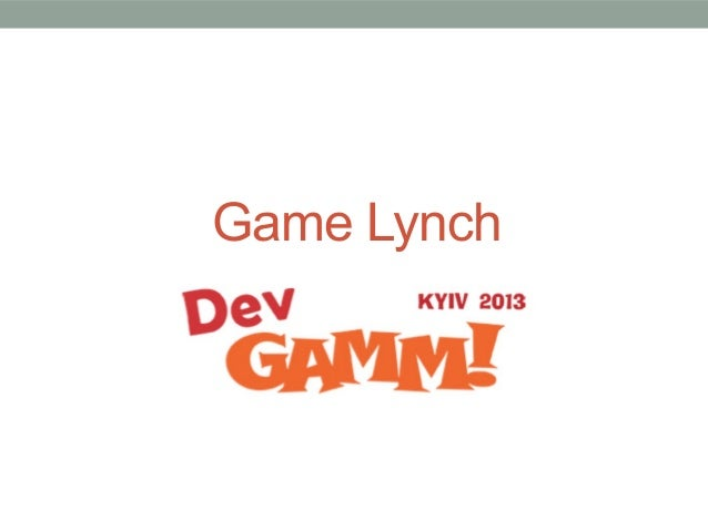 Game Lynch