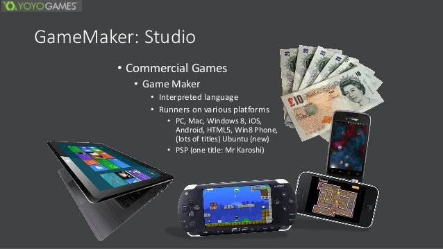 game maker studio portable