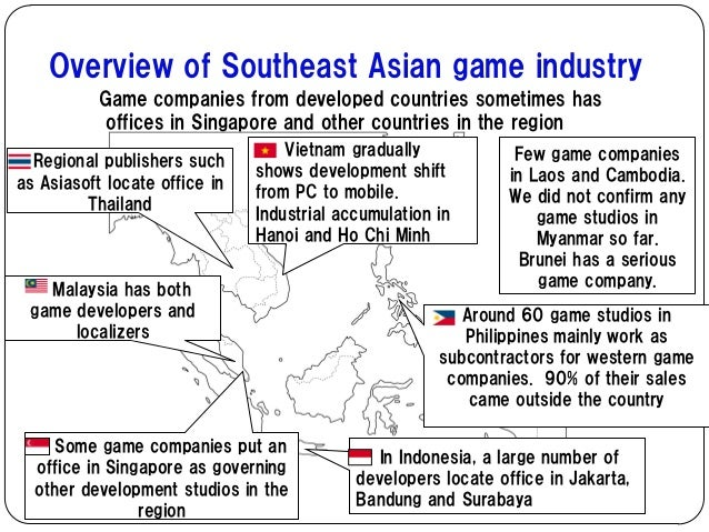 """an industrial overview of southeast asia Regional overview: sexual exploitation of children in southeast asia ecpat warns of """"industrial scale"""" of child online abuse."""