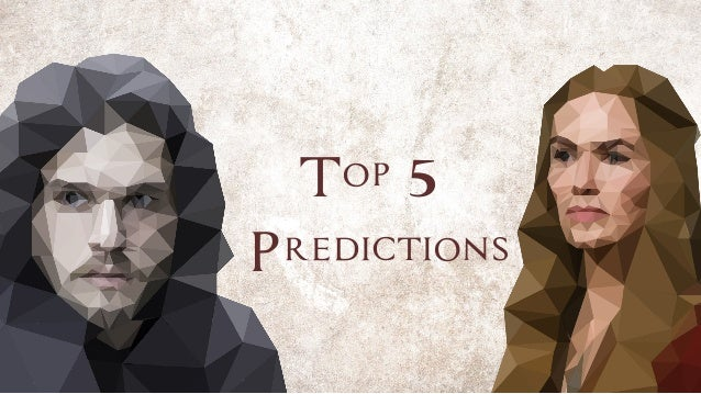 Top 5 Predictions