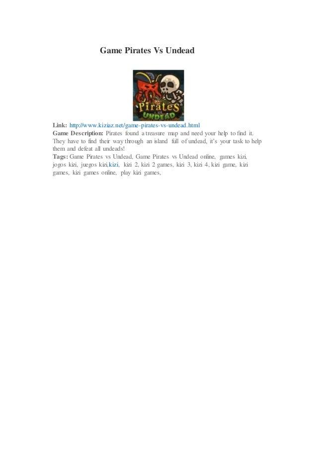 Game Pirates Vs Undead