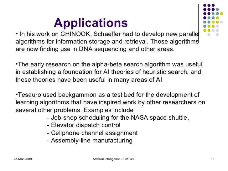 research paper on searching techniques in ai The 2010 fall issue of ai magazine includes an article on building watson: an overview of the deepqa project, written by the ibm watson research team, led by david ferucci.